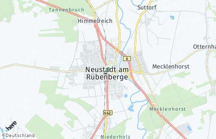 Stadtplan Neustadt am Rübenberge