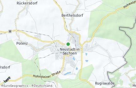 Stadtplan Neustadt in Sachsen