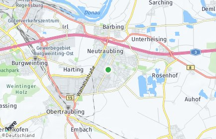 Stadtplan Neutraubling