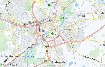 Stadtplan Neu-Ulm