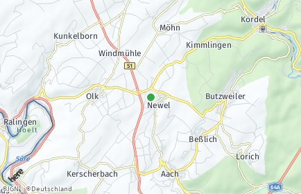 Stadtplan Newel