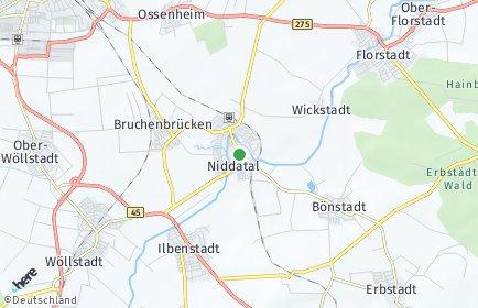 Stadtplan Niddatal