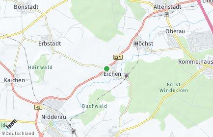 Stadtplan Nidderau