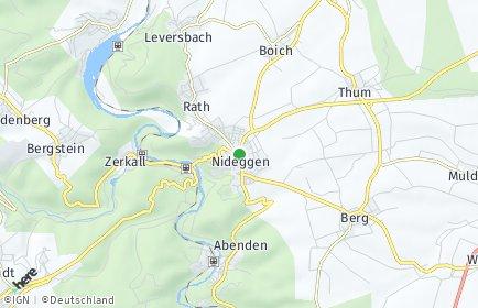 Stadtplan Nideggen