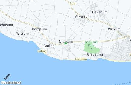 Stadtplan Nieblum