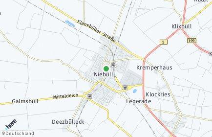 Stadtplan Niebüll