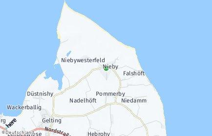 Stadtplan Nieby