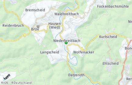 Stadtplan Niederbreitbach