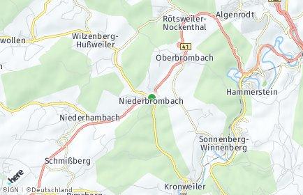 Stadtplan Niederbrombach