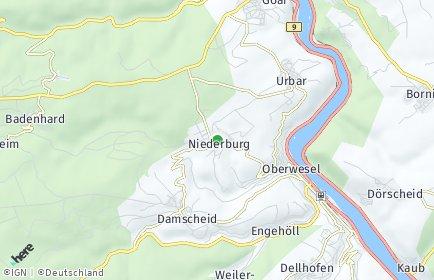 Stadtplan Niederburg