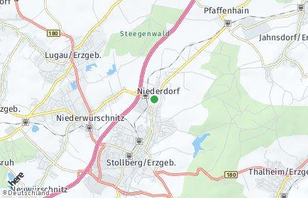 Stadtplan Niederdorf (Sachsen)