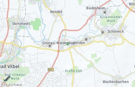 Stadtplan Niederdorfelden
