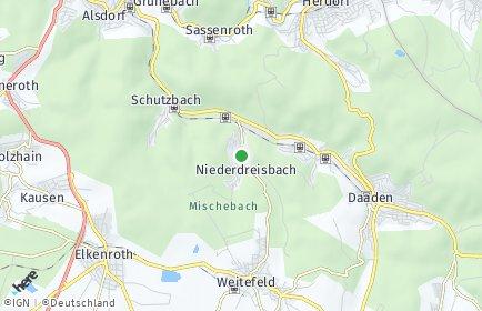 Stadtplan Niederdreisbach