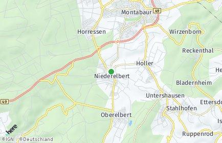 Stadtplan Niederelbert