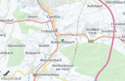 Stadtplan Niederfüllbach