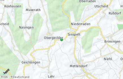 Stadtplan Niedergeckler