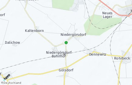 Stadtplan Niedergörsdorf