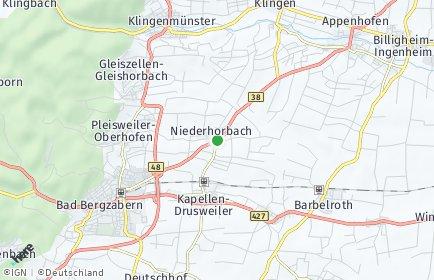 Stadtplan Niederhorbach