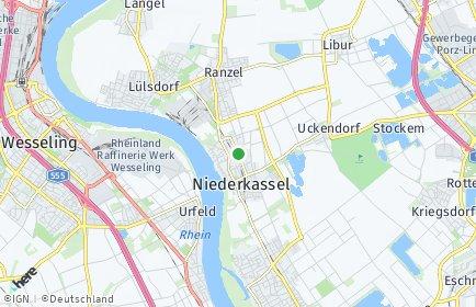Stadtplan Niederkassel