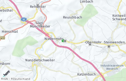 Stadtplan Niedermohr