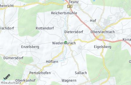 Stadtplan Niedermurach