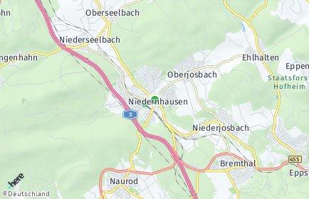 Stadtplan Niedernhausen