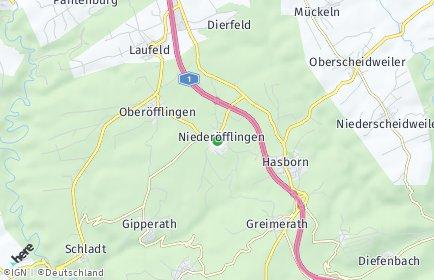 Stadtplan Niederöfflingen
