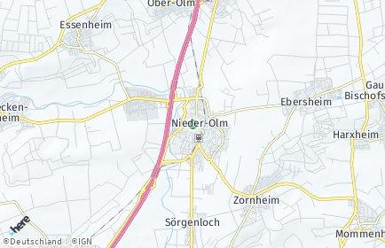 Stadtplan Nieder-Olm