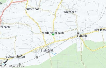 Stadtplan Niederotterbach