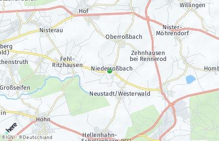 Stadtplan Niederroßbach