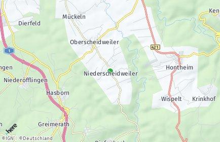 Stadtplan Niederscheidweiler