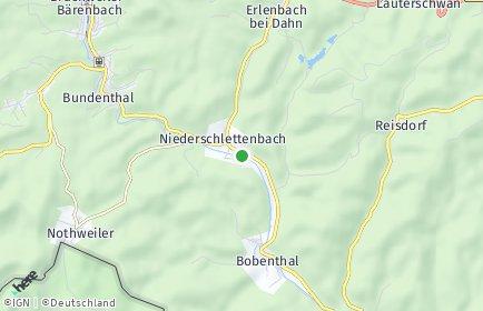 Stadtplan Niederschlettenbach