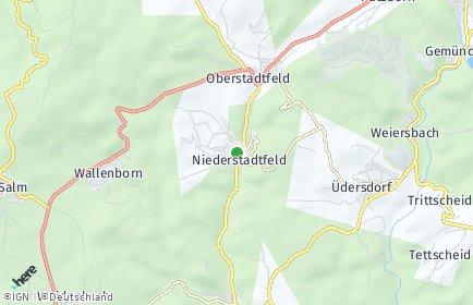 Stadtplan Niederstadtfeld