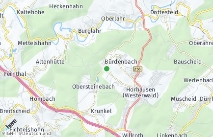 Stadtplan Niedersteinebach