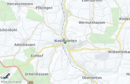 Stadtplan Niederstetten