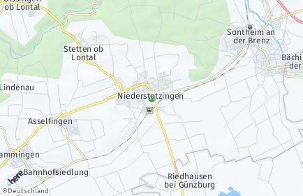 Stadtplan Niederstotzingen