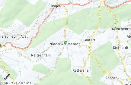 Stadtplan Niederwallmenach