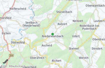 Stadtplan Niederwambach