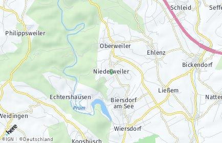 Stadtplan Niederweiler (Eifel)