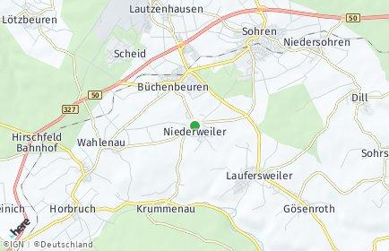 Stadtplan Niederweiler (Hunsrück)