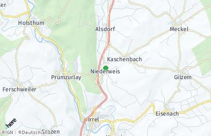 Stadtplan Niederweis