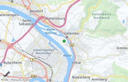 Stadtplan Niederwerth