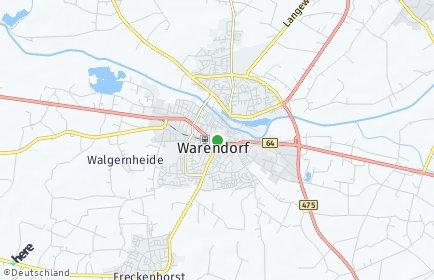 Stadtplan Warendorf