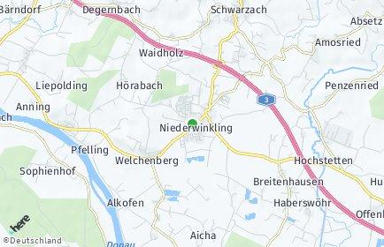 Stadtplan Niederwinkling