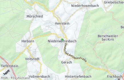 Stadtplan Niederwörresbach