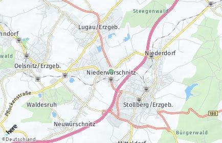 Stadtplan Niederwürschnitz