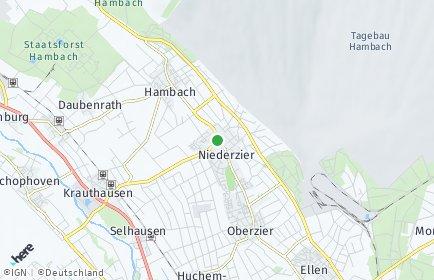 Stadtplan Niederzier
