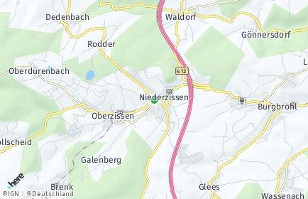 Stadtplan Niederzissen OT Niederzissen