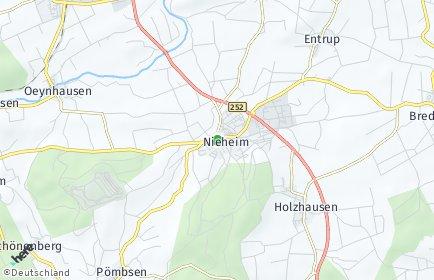 Stadtplan Nieheim