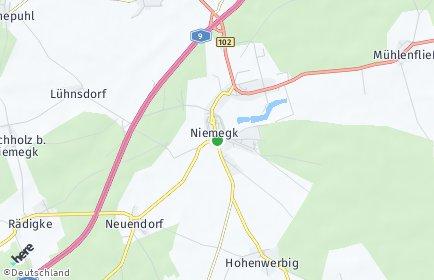 Stadtplan Niemegk